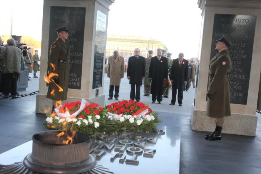 Dzień po obchodach 95. rocznicy wybuchu zwycięskiego Powstania Wielkopolskiego w Poznaniu, w sobotę 28 grudnia odbyła się kolejna odsłona uroczystości, których gospodarzem był Marszałek Marek Woźniak- kliknij aby powiększyć