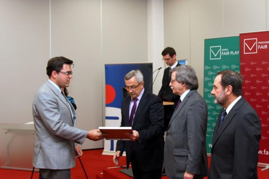 24 kwietnia 2013 roku w Centrum Konferencyjnym MTP w Poznaniu miało miejsce uroczyste spotkanie laureatów programów - kliknij aby powiększyć