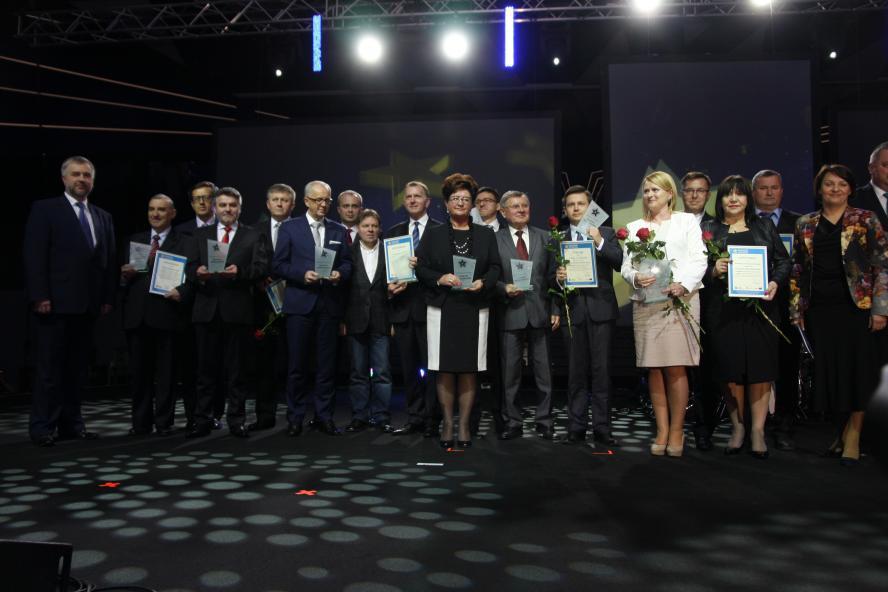 W środę 14 maja odbyła się gala podsumowująca realizację Wielkopolskiego Regionalnego Programu Operacyjnego na lata 2007-2013. Marszałek Marek Woźniak wręczył nagrody i wyróżnienia beneficjentom WRPO - kliknij aby powiększyć