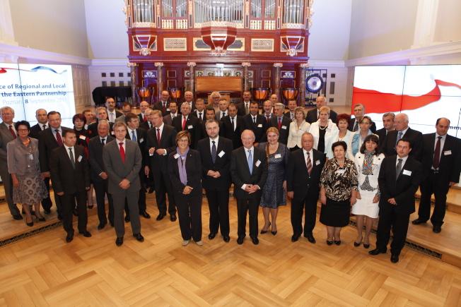 Z inicjatywy Marszałka Marka Woźniaka w Poznaniu odbyła się pierwsza Konferencja Władz Lokalnych i Regionalnych Partnerstwa Wschodniego CORLEAP- kliknij aby powiększyć