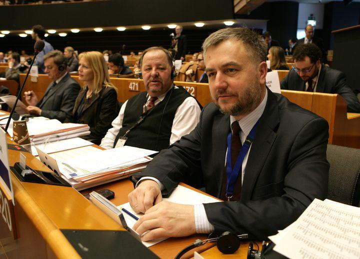 Marszałek Marek Woźniak podczas Sesji Plenarnej Komitetu Regionów UE, inaugurującej nową kadencję 2010-2015- kliknij aby powiększyć