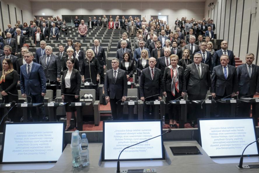 Das Parlament der Wojewodschaft Wielkopolska- kliknij aby powiększyć