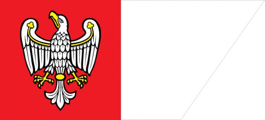 Die Flagge der Wojewodschaft Wielkopolska- kliknij aby powiększyć