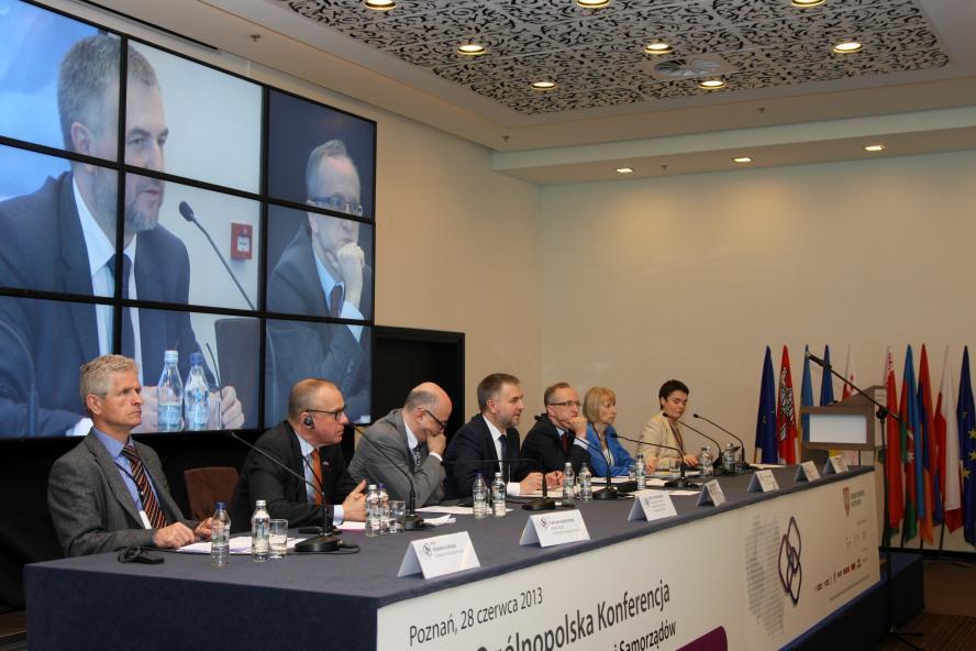 Stała Ogólnopolska Konferencja Współpracy Międzynarodowej Samorządów- kliknij aby powiększyć