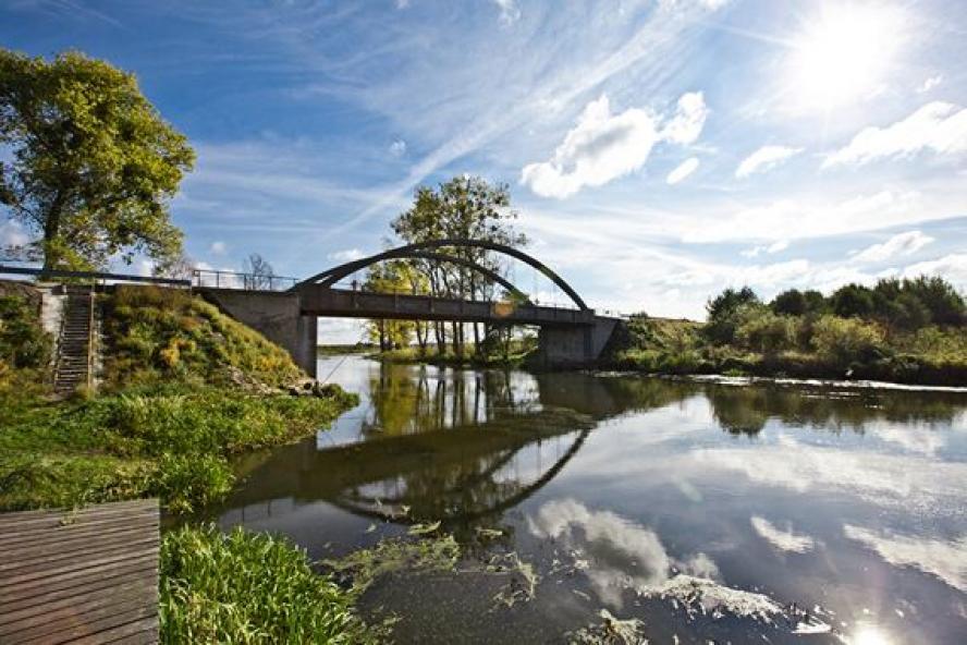 Most w okolicy Osieku nad Notecią- kliknij aby powiększyć