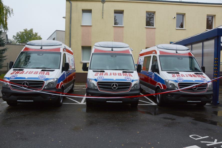 Ambulans sanitarny- kliknij aby powiększyć