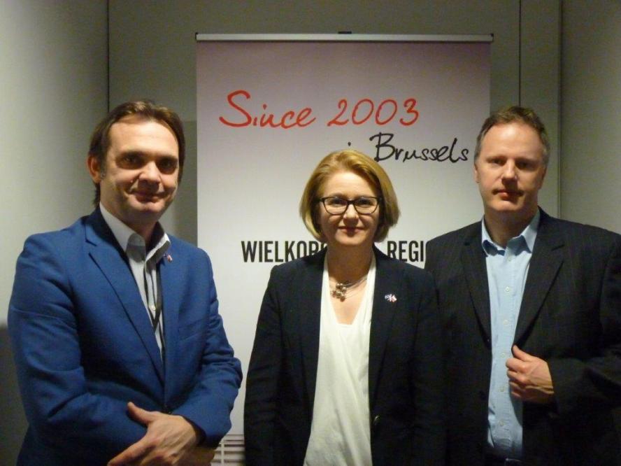 Promocja Wielkopolski poprzez literaturę – spotkanie w Brukseli- kliknij aby powiększyć