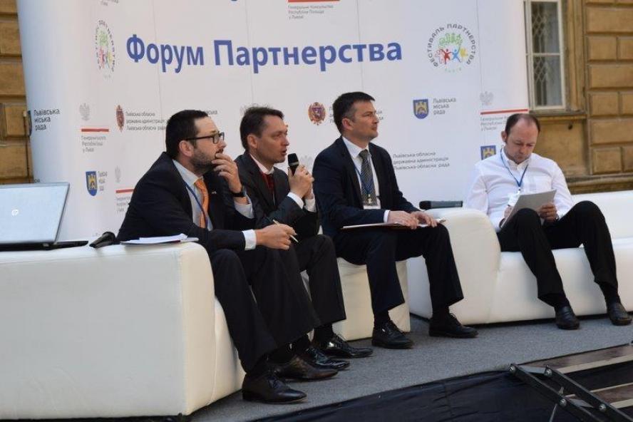 V Polsko-Ukraiński Festiwal Partnerstwa we Lwowie- kliknij aby powiększyć