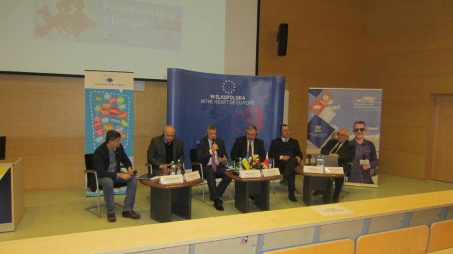 Niepodległa Ukraina: europejski bilans – relacja z debaty- kliknij aby powiększyć