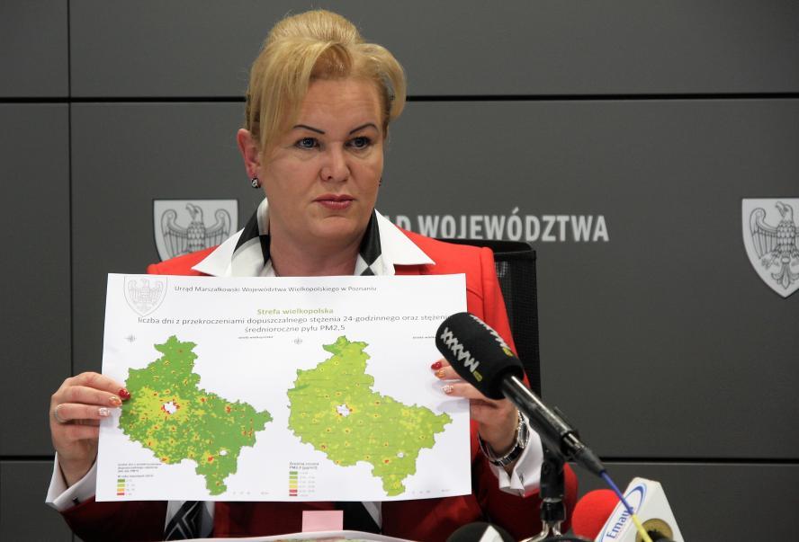 Działania Samorządu Województwa dot. ochrony powietrza w Wielkopolsce- kliknij aby powiększyć