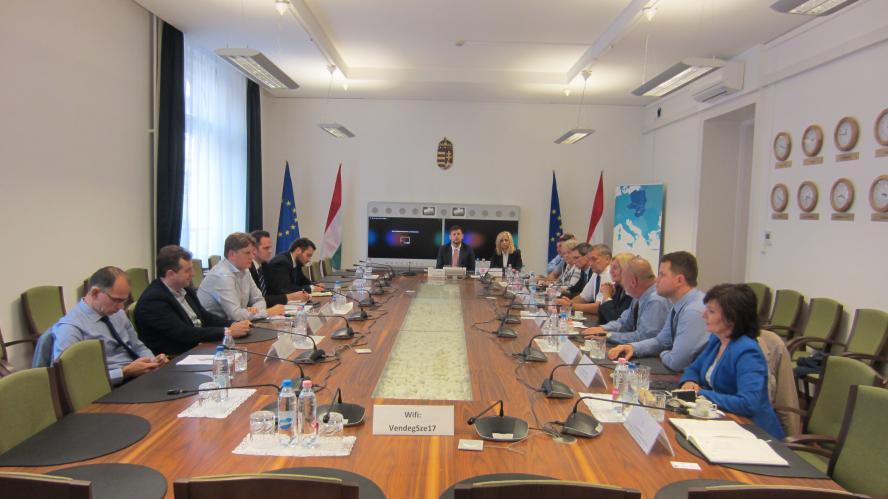 Polsko-węgierskie rozmowy o rozwoju regionalnym- kliknij aby powiększyć