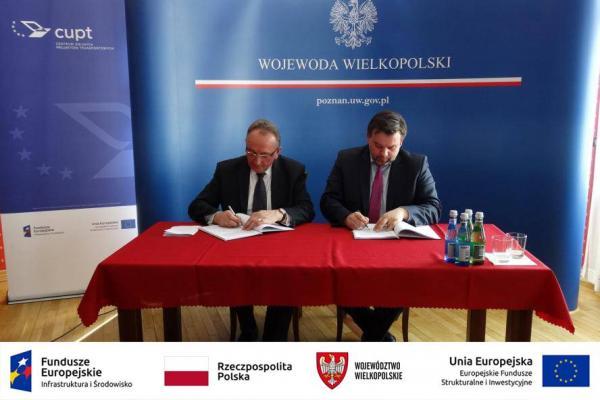 Podpisanie umowy o dofinansowanie- kliknij aby powiększyć