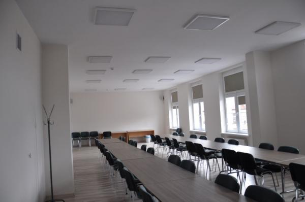 Sala konferencyjna po zrealizowaniu inwestycji- kliknij aby powiększyć