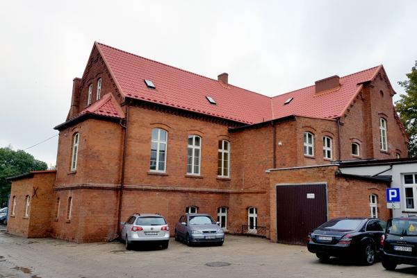 Budynek szkoły (stara część) po zrealizowaniu inwestycji- kliknij aby powiększyć