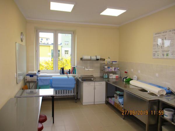 Pracownia sterylizacji medycznej po zrealizowaniu inwestycji- kliknij aby powiększyć