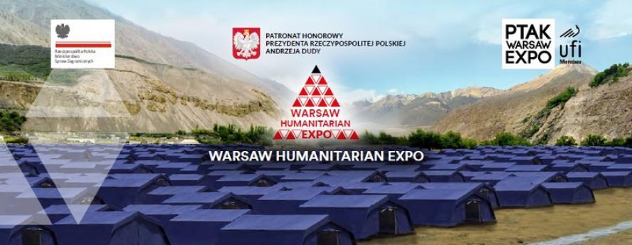 Wielkopolskie Centrum Obsługi Inwestorów i Eksporterów na Warsaw Humanitarian Expo 2019- kliknij aby powiększyć
