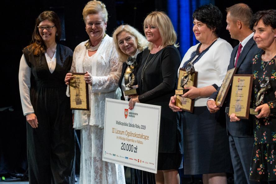 Innowacyjne szkoły i najlepsi nauczyciele 2019 nagrodzeni!- kliknij aby powiększyć