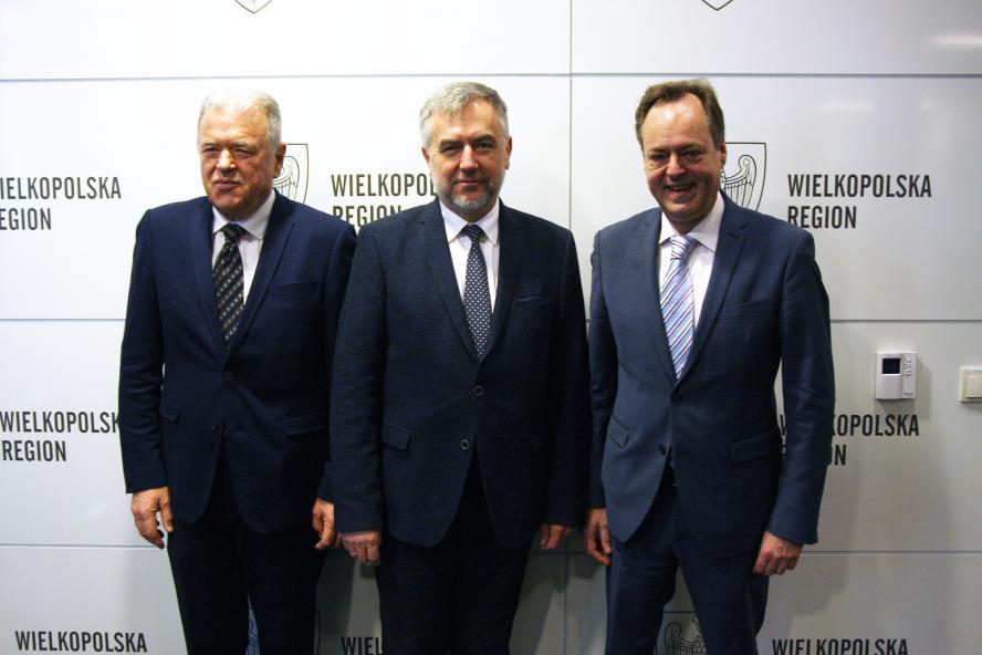 Ambasador Chorwacji z wizytą u Marszałka Marka Woźniaka w przededniu przewodnictwa Chorwacji w Radzie UE- kliknij aby powiększyć