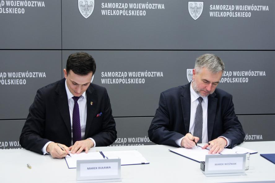 Województwo wielkopolskie wspiera Centrum Idei Rodła w Zakrzewie- kliknij aby powiększyć