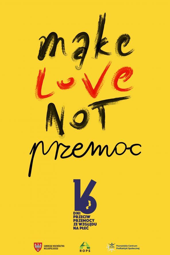 Wielkopolska przeciw przemocy wobec kobiet #MakeLoveNotPrzemoc- kliknij aby powiększyć