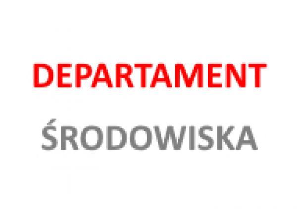 Departament Środowiska- kliknij aby powiększyć