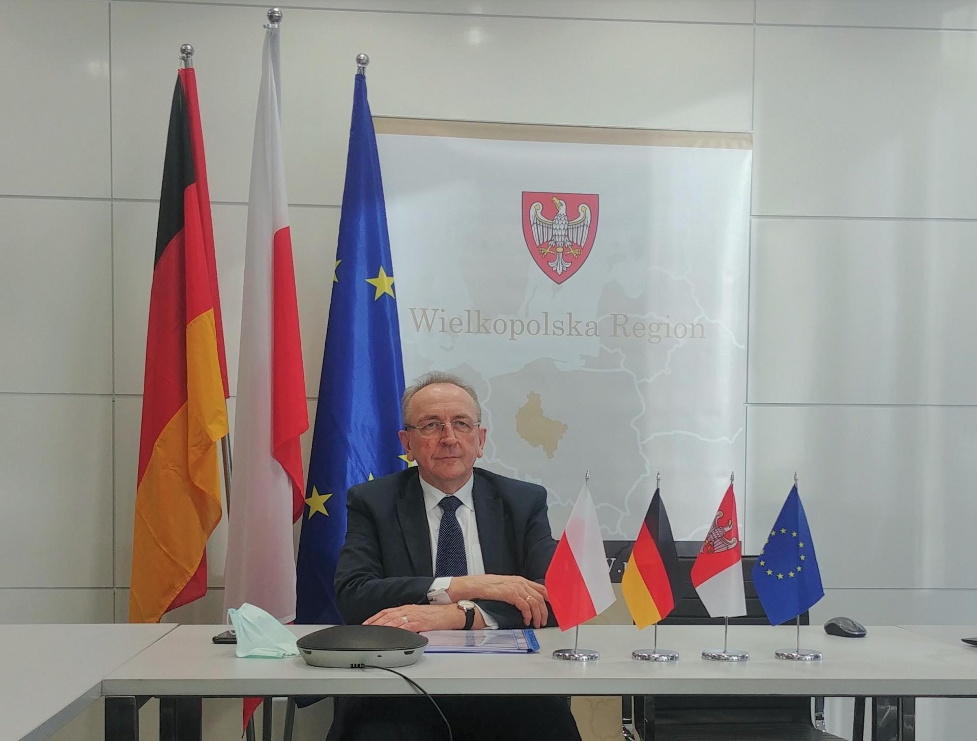 O przygranicznej współpracy polsko - niemieckiej w czasach pandemii- kliknij aby powiększyć