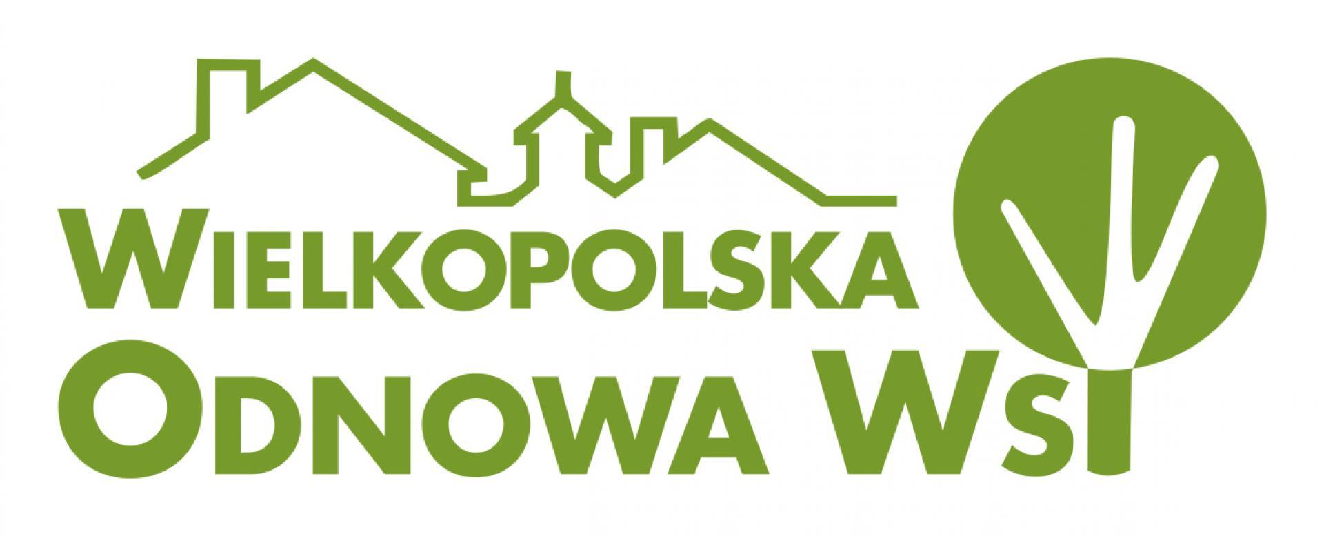Logo programu Wielkopolska Odnowa Wsi- kliknij aby powiększyć