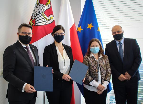 We wtorek doszło do  podpisaniu aneksu do umowy o partnerstwie na rzecz realizacji projektu Czas zawodowców BIS – zawodowa Wielkopolska z Politechniką Poznańską- kliknij aby powiększyć