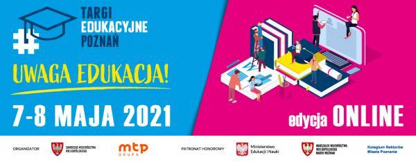 Plakat zapowiadający XXV Targi Edukacyjne- kliknij aby powiększyć