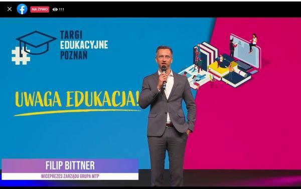 Filip Bittner - wiceprezes Zarządu Grupy MTP- kliknij aby powiększyć