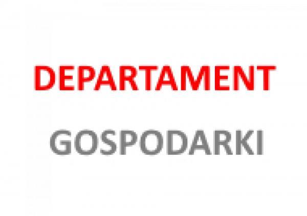 Departament Gospodarki- kliknij aby powiększyć