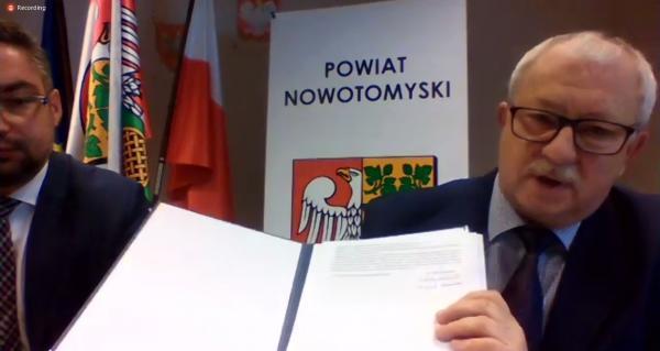 Andrzej Wilkoński Starosta Nowotomyski- kliknij aby powiększyć