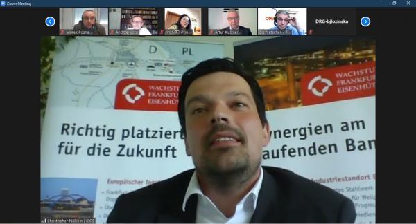 Christopher Nüßlein z Investor Center Ostbrandenburg GmbH- kliknij aby powiększyć