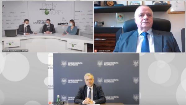Marszałek Marek Woźniak wziął udział w Kongresie Perły Samorządu- kliknij aby powiększyć