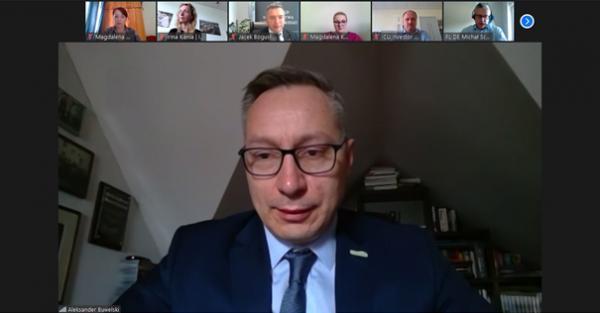 Pan Aleksander Buwelski z Investorcenter Uckermark- kliknij aby powiększyć
