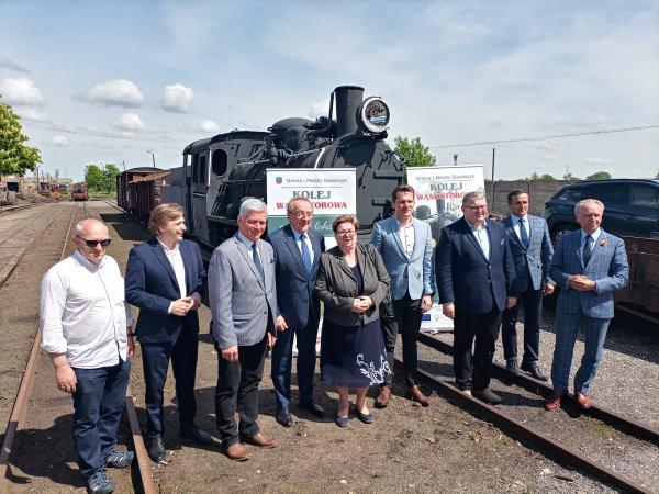 Wicemarszałkowie Wielkopolski z wizytą w powiatach kaliskim i pleszewskim- kliknij aby powiększyć