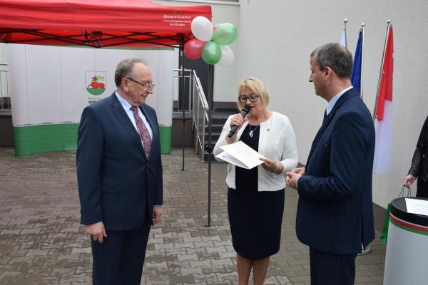 Wicemarszałek Województwa Wielkopolskiego Wojciech Jankowiak uczestniczył w otwarciu żłobka gminnego w Wieleniu- kliknij aby powiększyć