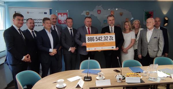 Powiat leszczyński- kliknij aby powiększyć