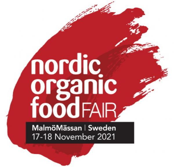 Logo targów Nordic Organic Food Fair 2021- kliknij aby powiększyć