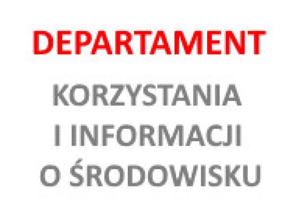 logo departamentu korzystania i informacji o środowisku- kliknij aby powiększyć