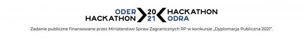logo hackathon odra 2021- kliknij aby powiększyć