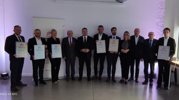 Uroczystość wręczenia pierwszych Certyfikatów Marka Wielkopolska 29.09.2021 r.- kliknij aby powiększyć