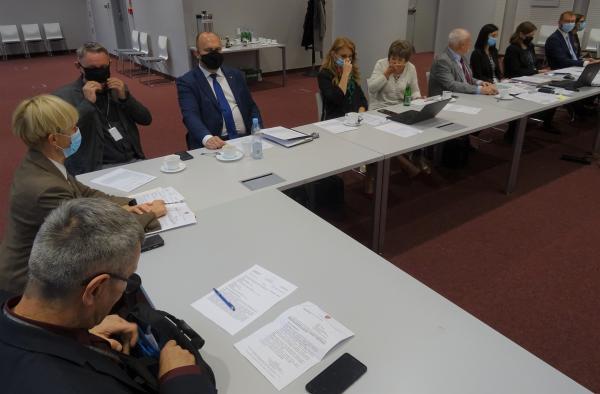 Obrady sejmikowej komisji ochrony środowiska- kliknij aby powiększyć