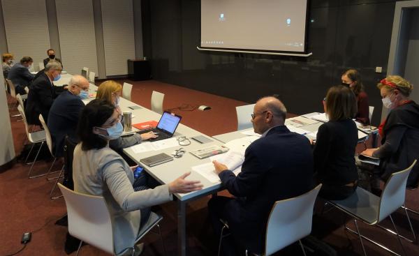 Posiedzenie Komisji Rodziny i Polityki Społecznej- kliknij aby powiększyć