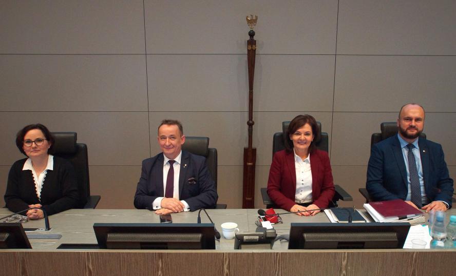 Prezydium Sejmiku Województwa Wielkopolskiego- kliknij aby powiększyć