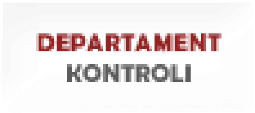 Uwaga zmiana lokalizacji Departamentu Kontroli - zobacz więcej