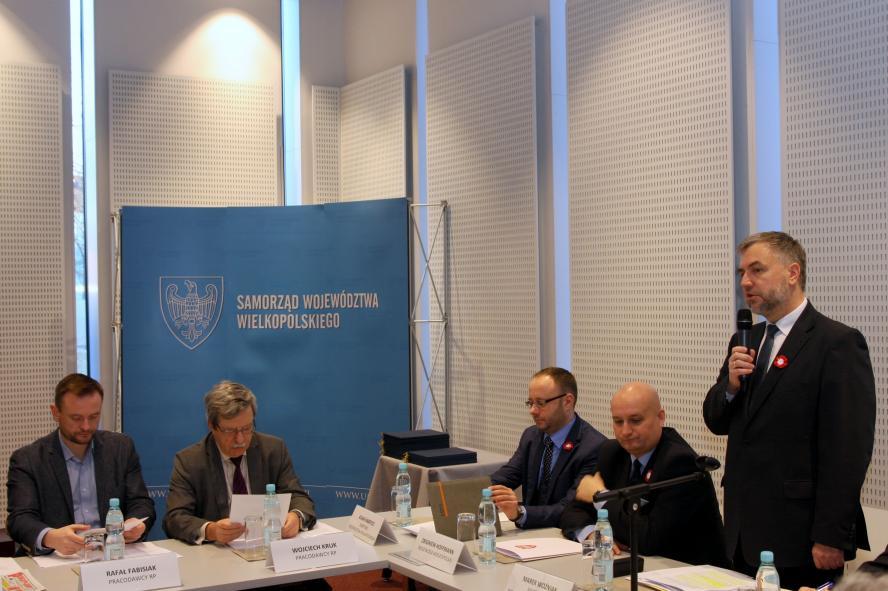 Inauguracyjne posiedzenie Wojewódzkiej Rady Dialogu Społecznego w Poznaniu - zobacz więcej