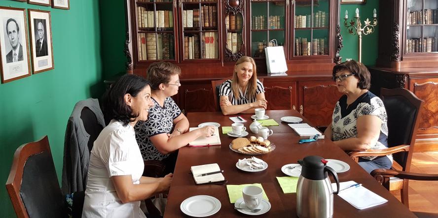 Wizyta przedstawicielek Uniwersytetu Babeş-Bolyai w Wielkopolsce - zobacz więcej