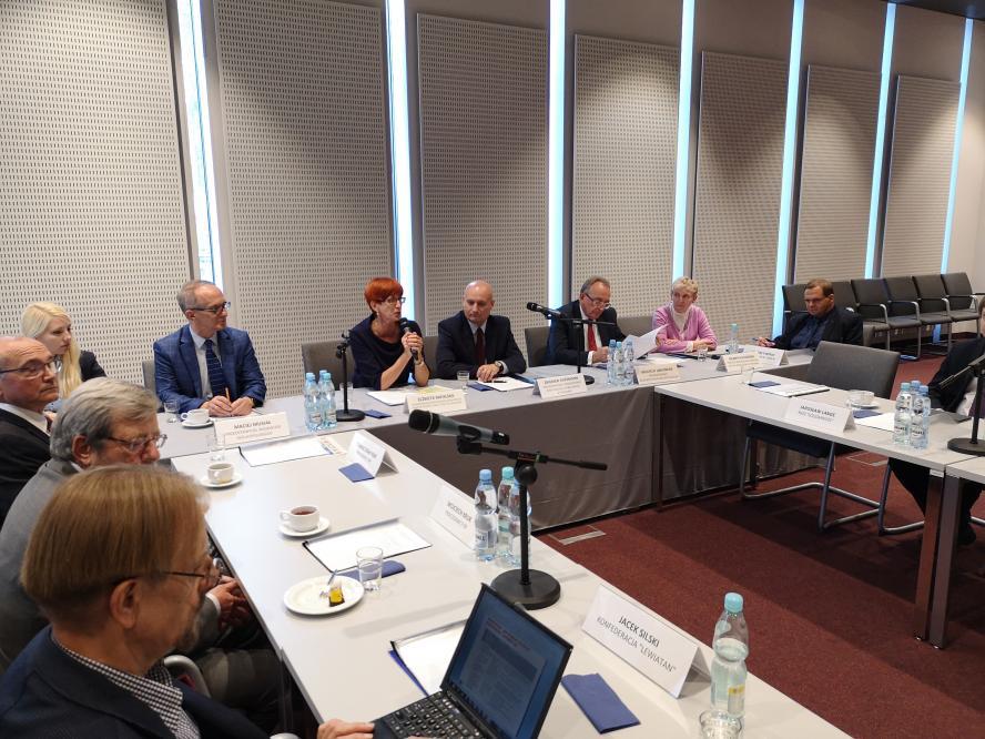 Minister Rodziny, Pracy i Polityki Społecznej uczestniczyła w posiedzeniu WRDS  w Poznaniu - zobacz więcej