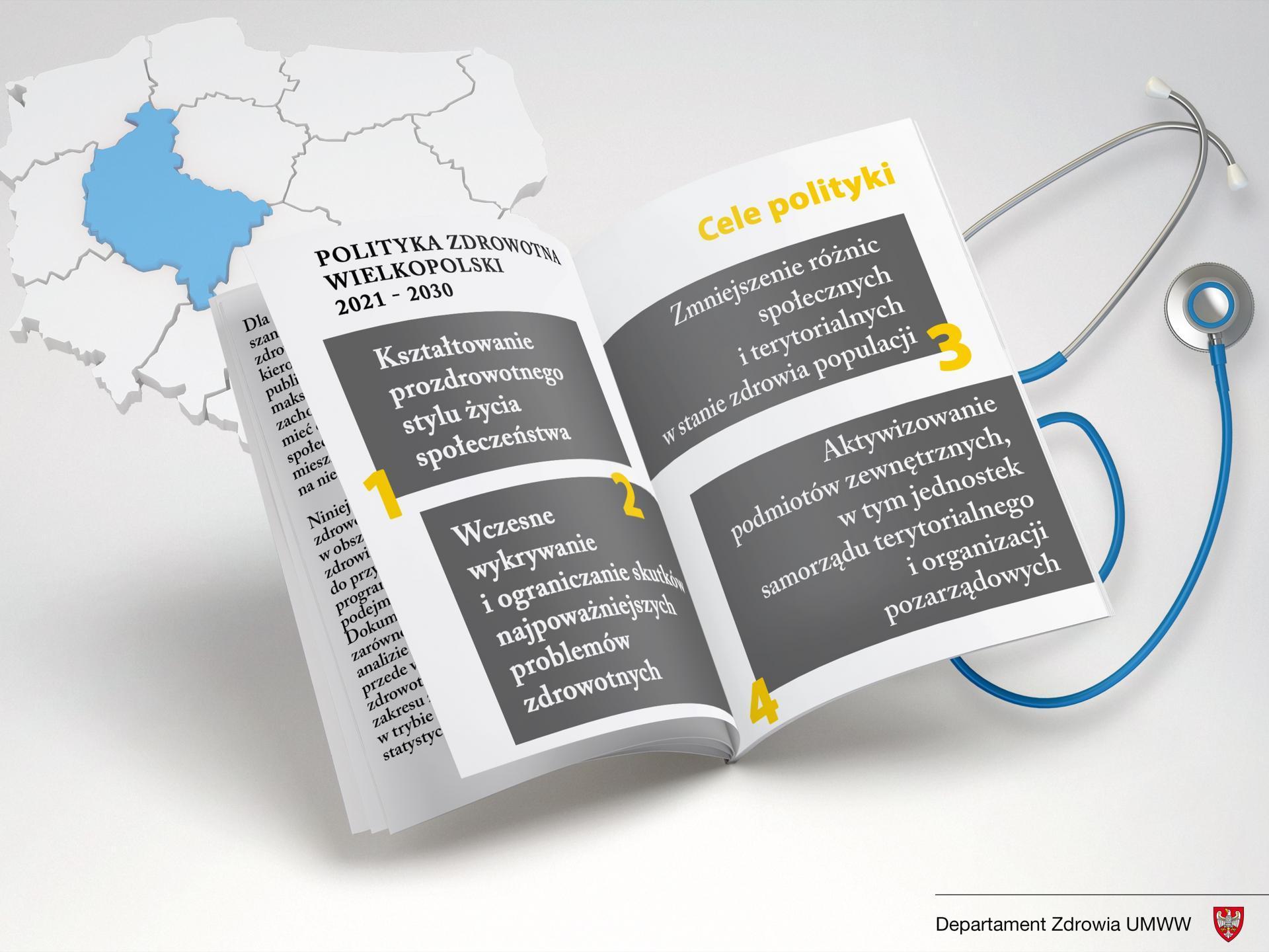 Polityka Zdrowotna Województwa Wielkopolskiego w Zakresie Zdrowia Publicznego Promocji i Profilaktyki Zdrowotnej na lata 2021 – 2030 - zobacz więcej